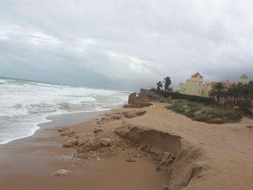 EU exigeix al Govern que prenga les mesures oportunes per a acabar definitivament amb l'erosió de la platja de la Goleta de Tavernes de la Valldigna