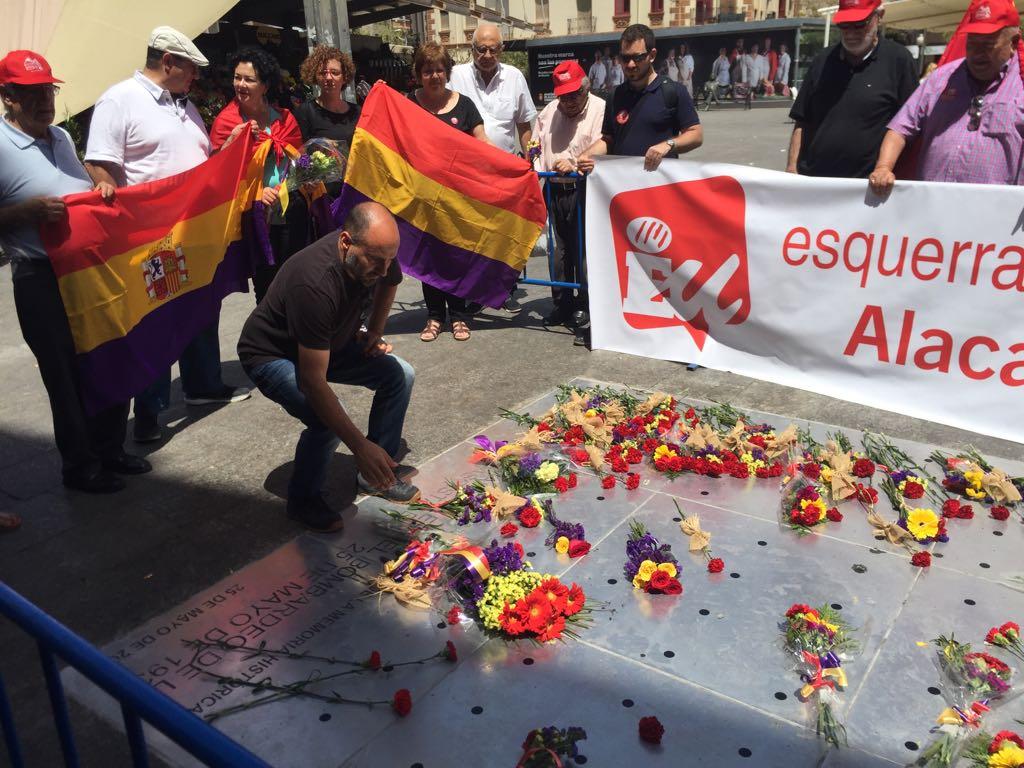 EUPV participa en l'aniversari del bombardeig del Mercat d'Alacant