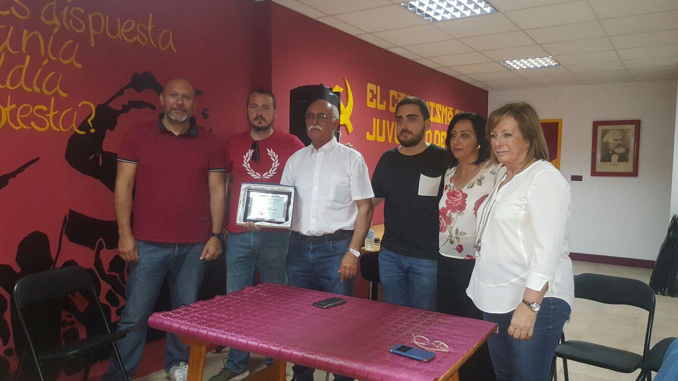 EUPV celebra el retorn de l'ex regidor Pepe Blanco a la formació d'esquerres