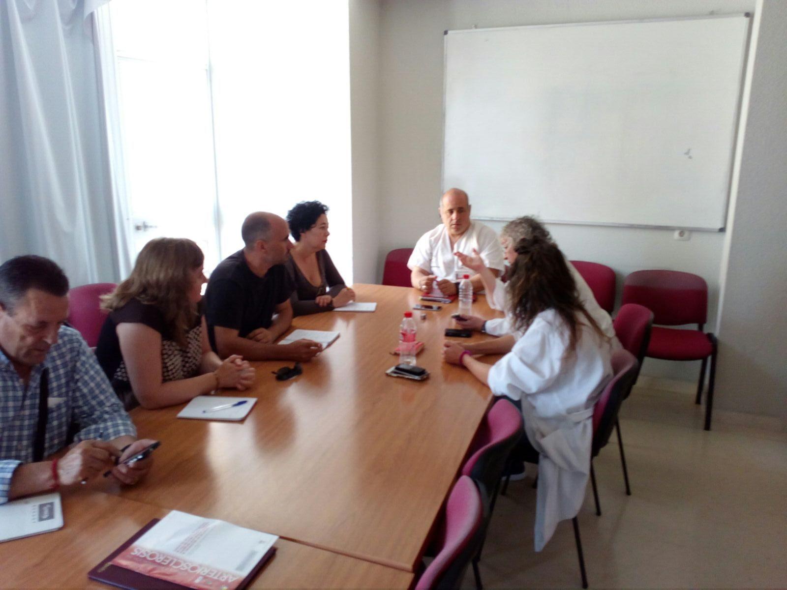 Esquerra Unida critica la precària situació en inversions i personal de l'Hospital de la Marina Baixa