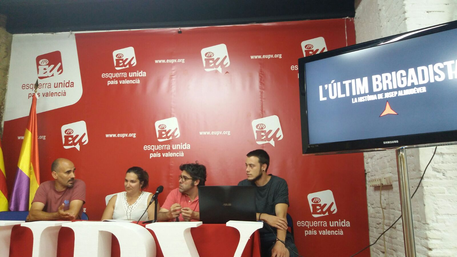 EUPV participa en la coproducció d'un documental que narra la història de l'últim brigadista, Josep Almudéver