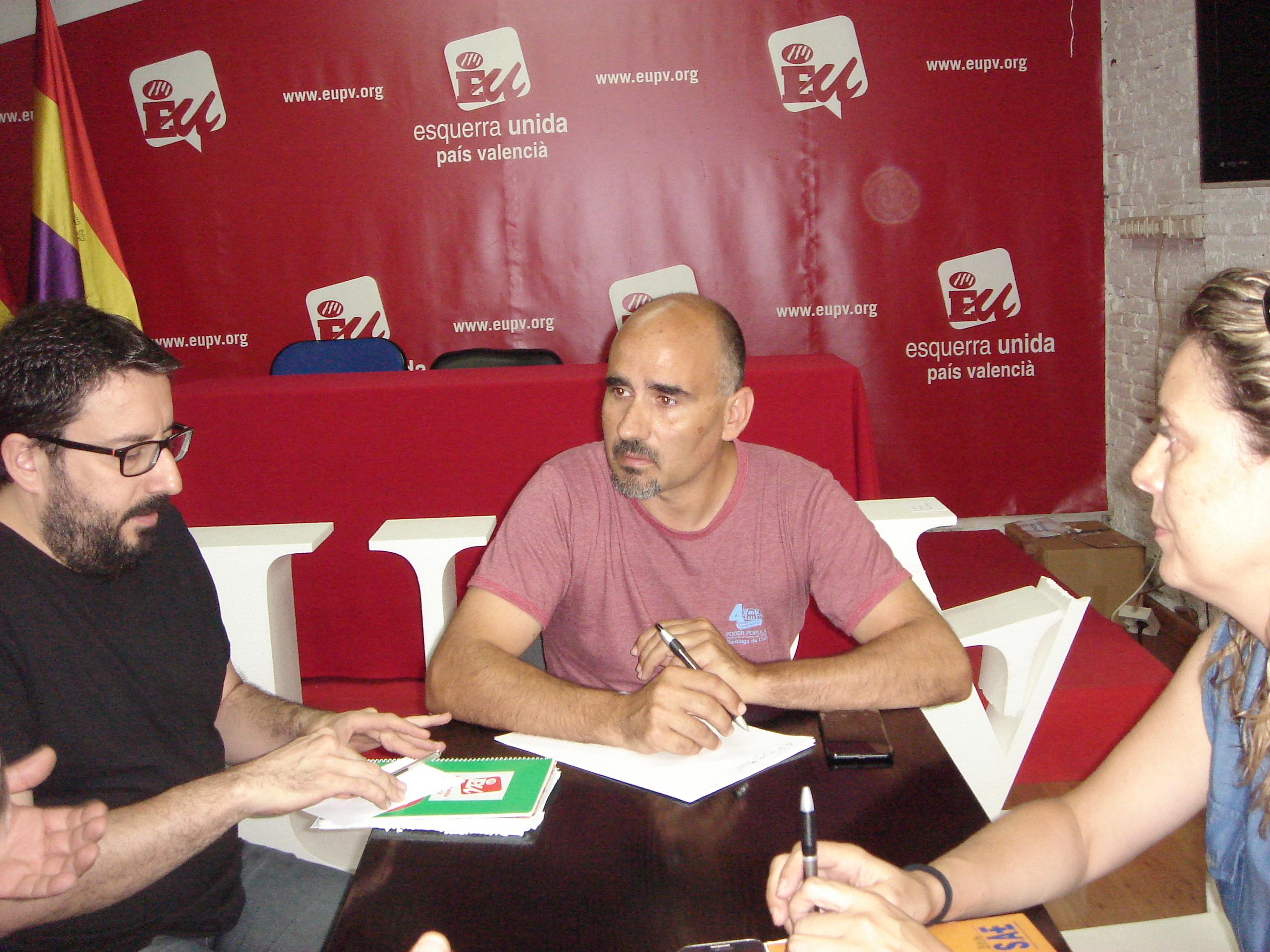 Rodríguez exigeix al Consell la negociació per a la integració dels treballadors de l'Hospital General en la Conselleria de Sanitat