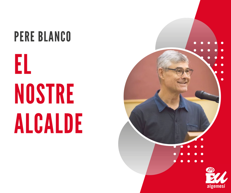 Pere Blanco alcalde d'Algemesí