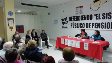 Photo of Esquerra Unida hace suyas las reivindicaciones de la Plataforma en Defensa de las Pensiones Públicas de la Vega Baja tras mantener una reunión