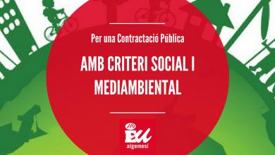 Photo of Proposem que els criteris socials i mediambientals siguen considerats en la contractació pública