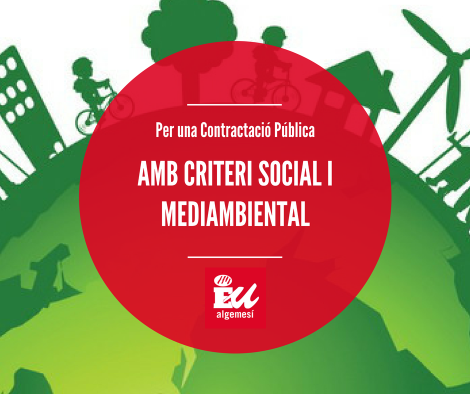 Criteris mediambentals contractació pública Algemesí