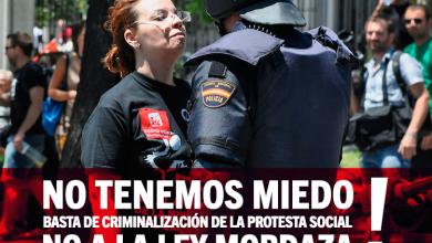 Photo of EUPV es compromet a portar al Congrés la derogació de la Llei Mordassa