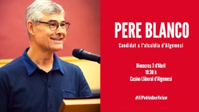 Acte Pere Blanco candidat Algemesí