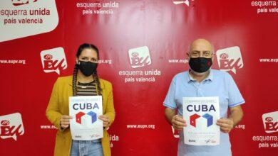 Photo of EUPV realitza una donació a la campanya, de l'Associació Valenciana d'Amistat amb Cuba José Martí, destinada a comprar materials sanitaris per a Cuba.